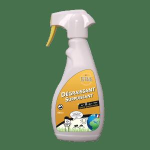 Flacon pulvérisateur dégraissant ménager