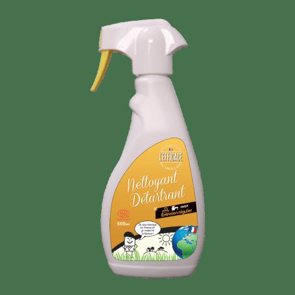 Flacon pulvérisateur nettoyant et détartrant ménager
