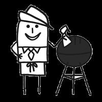Barbecue chaud